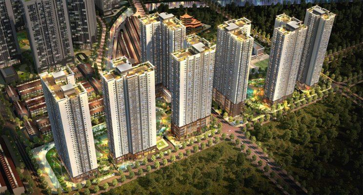 Phối cảnh dự án Raemian City