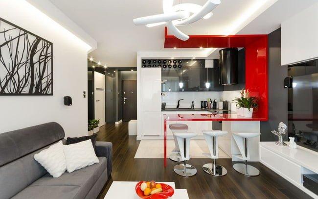 Phối màu trong căn hộ