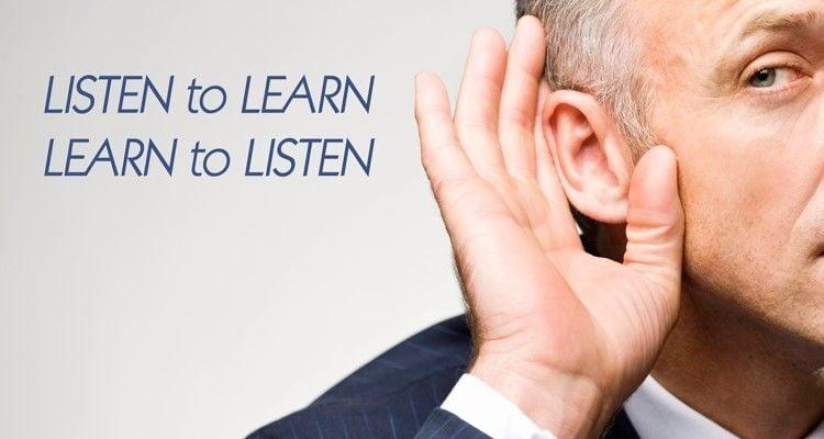 Học cách lắng nghe và thấu hiểu
