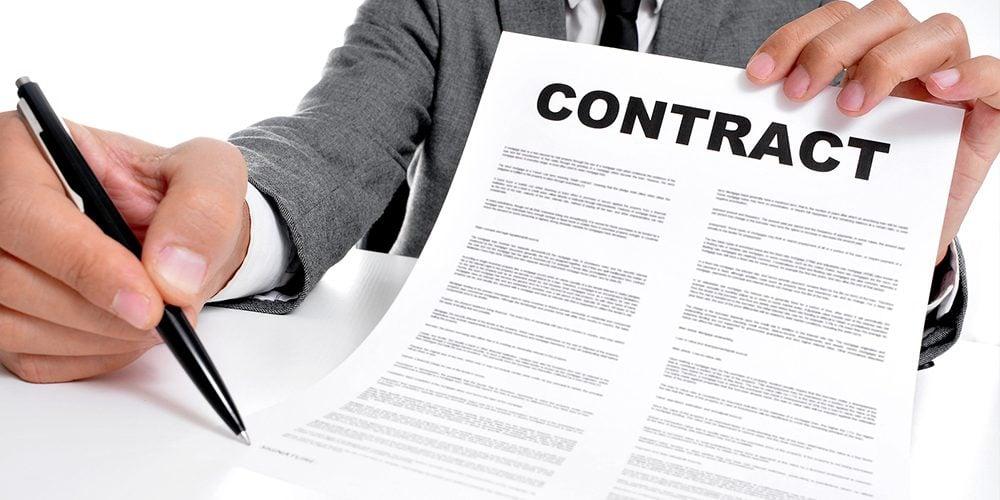 Ký hợp đồng Bất Động Sản