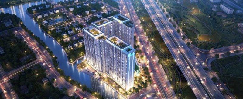 Phối cảnh căn hộ Jamila Khang Điền
