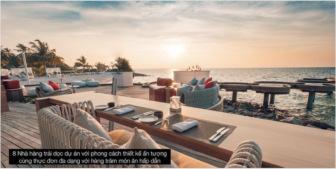 Nhà hàng 5 sao The Maris Vũng Tàu
