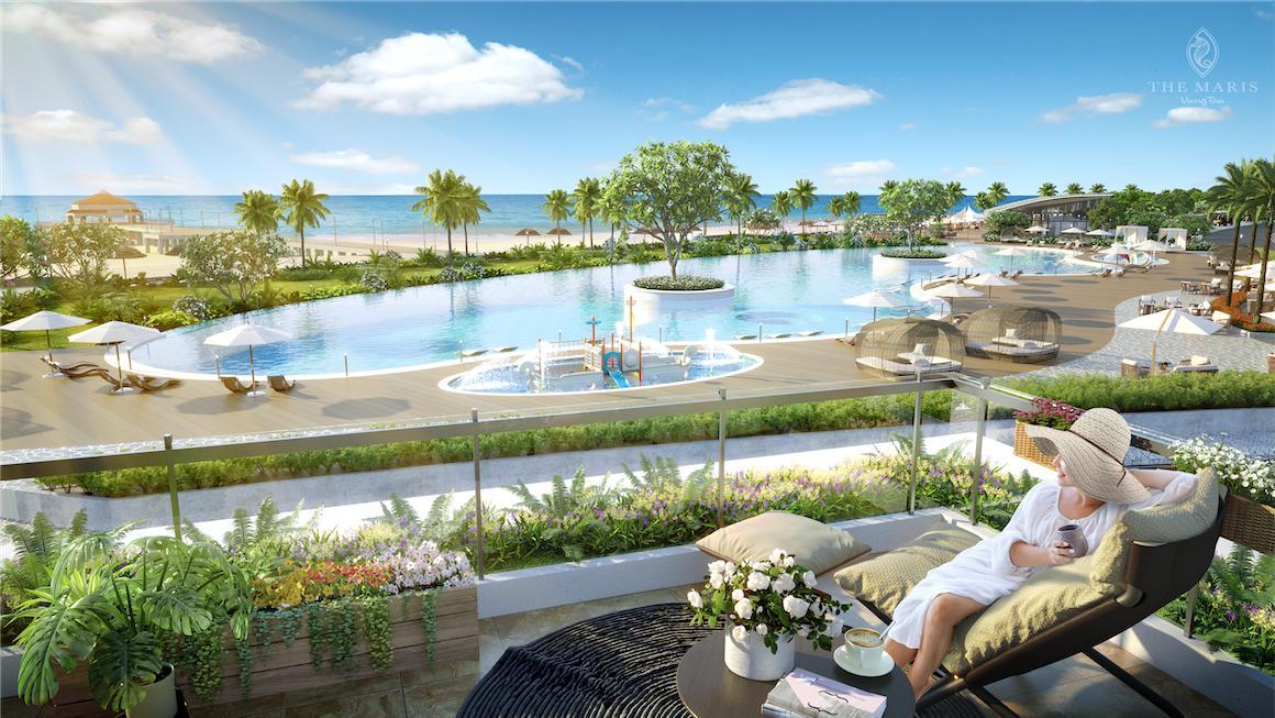 Ốc đảo tự nhiên dự án The Maris Vũng Tàu
