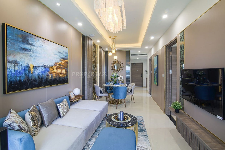 Nhà mẫu loại 2 phòng ngủ dự án căn hộ Grand Center Quy Nhơn