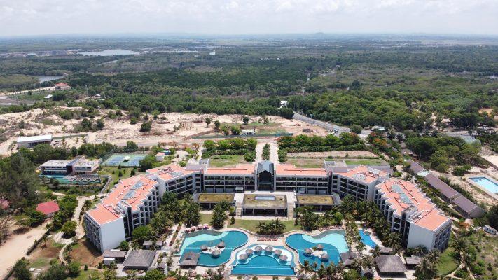 Phối cảnh Hồ Tràm Complex