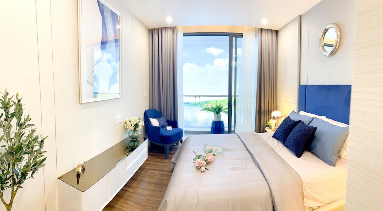 Phòng ngủ nhà mẫu Precia