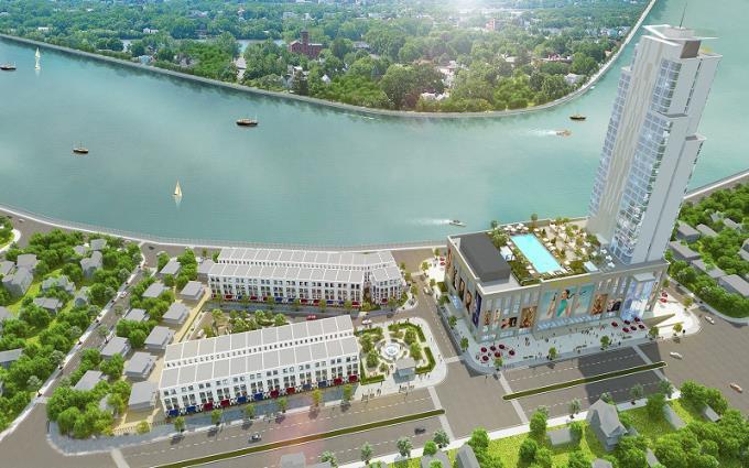 Phối cảnh dự án Vincom Xuân Khánh Cần Thơ