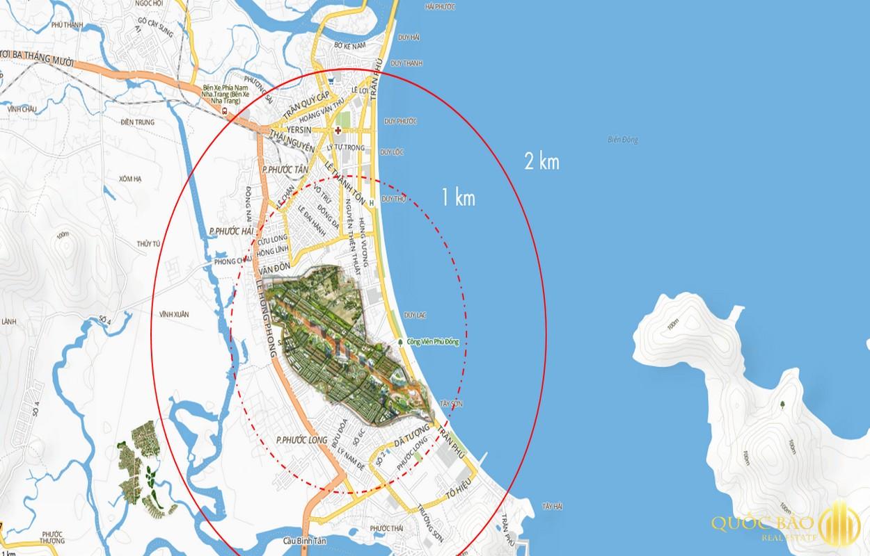Bản đồ quy hoạch sân bay Nha Trang - Kinh nghiệm cho thuê nhà Nha Trang