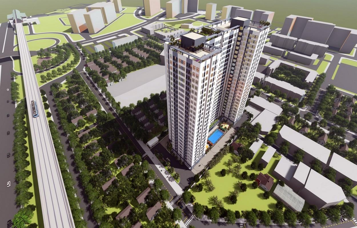 Phối cảnh dự án Bcons Miền Đông - Dự án thuộc quy hoạch thành phố Dĩ An
