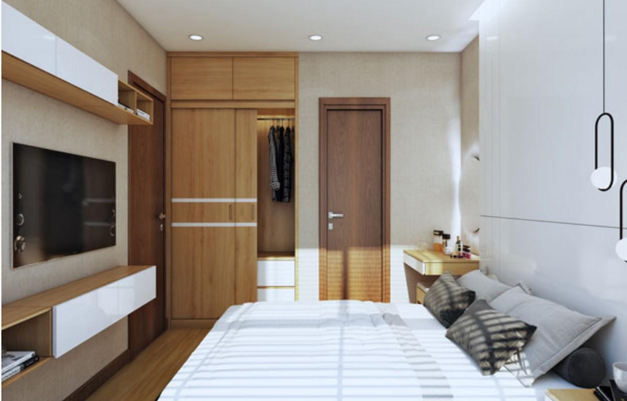 Phòng ngủ nhà mẫu Bcons Miền Đông