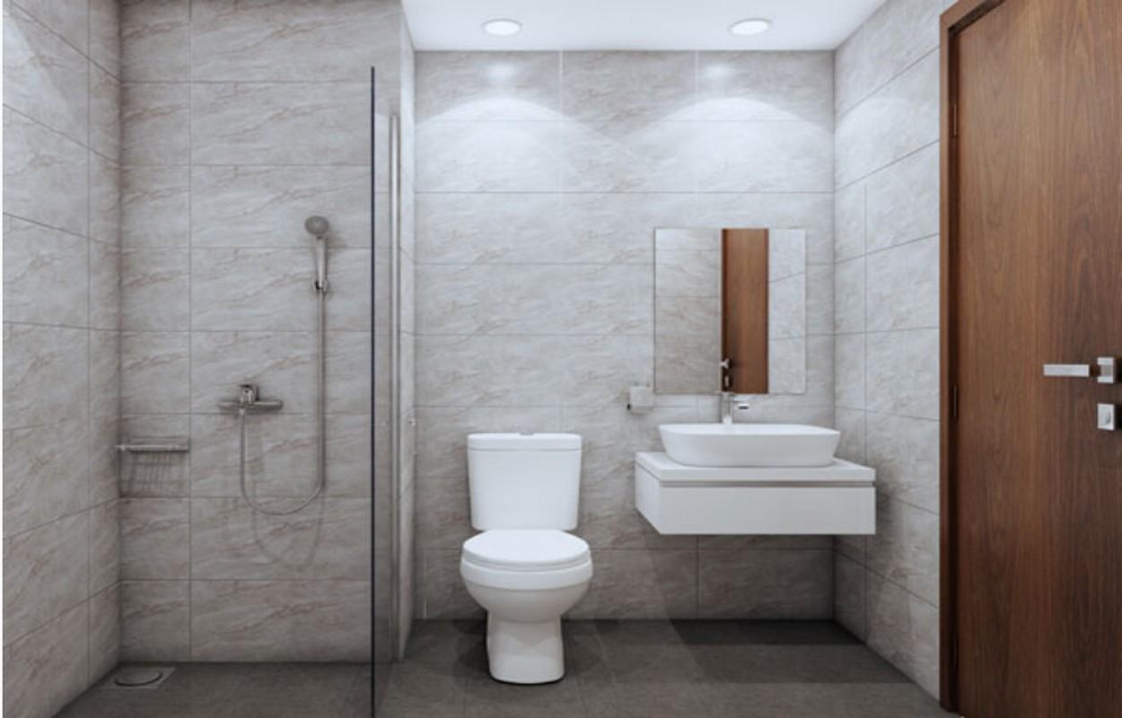Phòng vệ sinh nhà mẫu Bcons Miền Đông