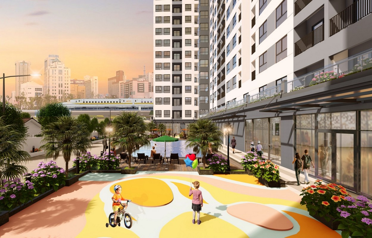 Tiện ích dự án Bcons Miền Đông