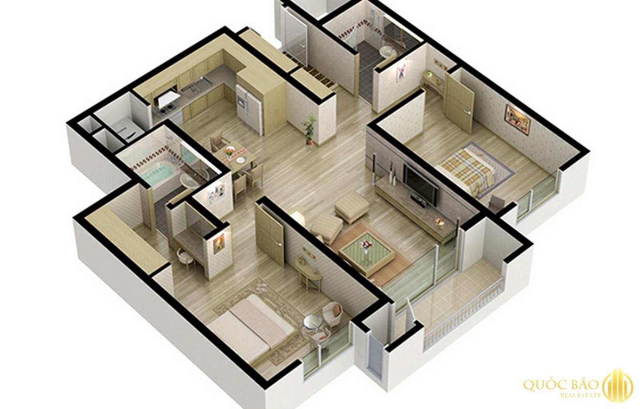 Thiết kế chung cư 282 Nguyễn Huy Tưởng
