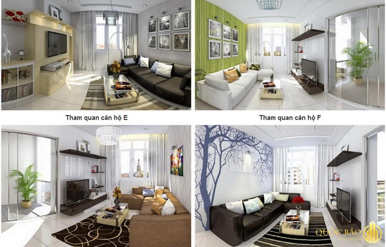 Các loại căn hộ chung cư Bảy Hiền