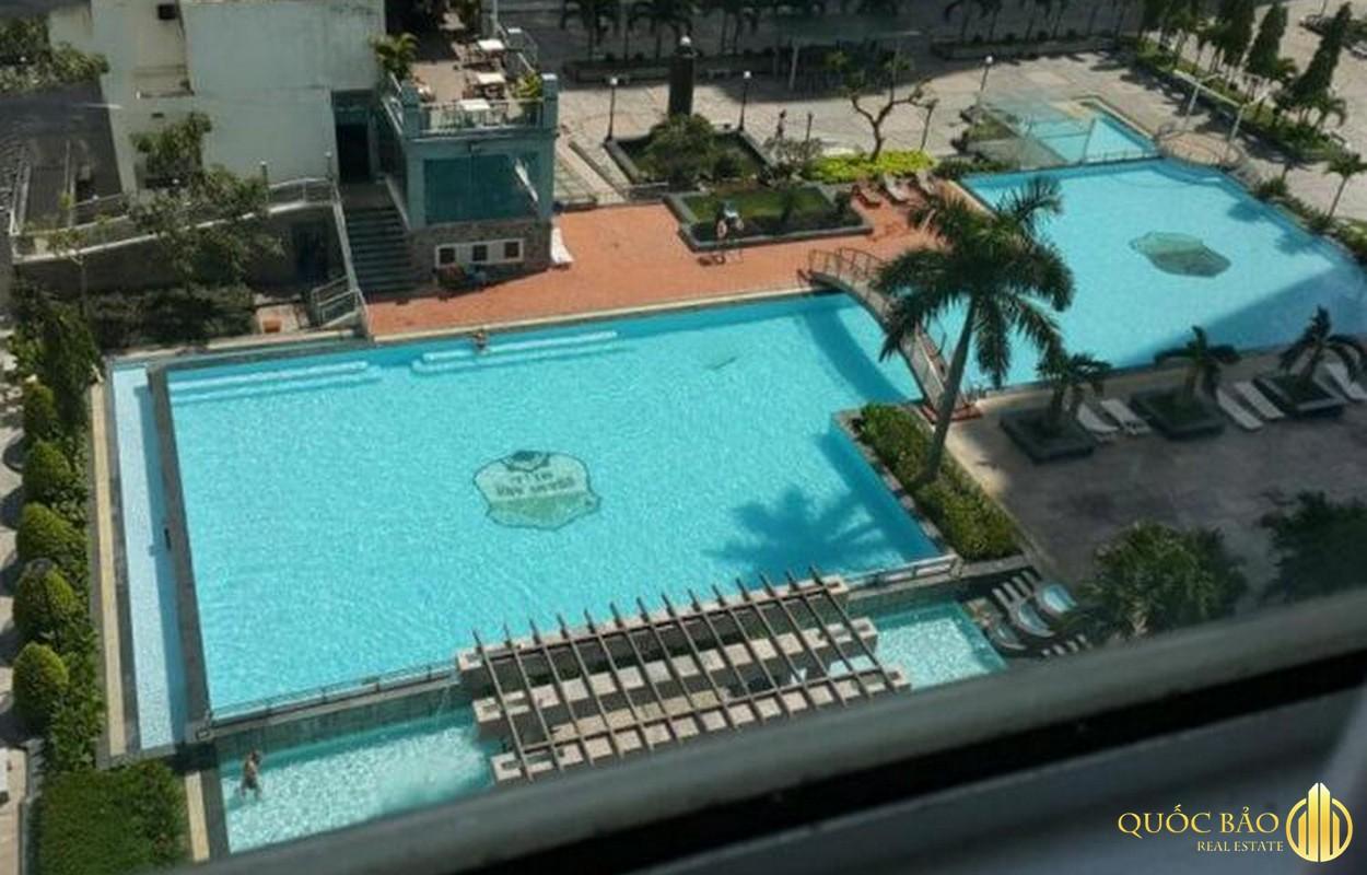 Hồ bơi tiện ích chung cư Hoàng Anh Gia Lai 3