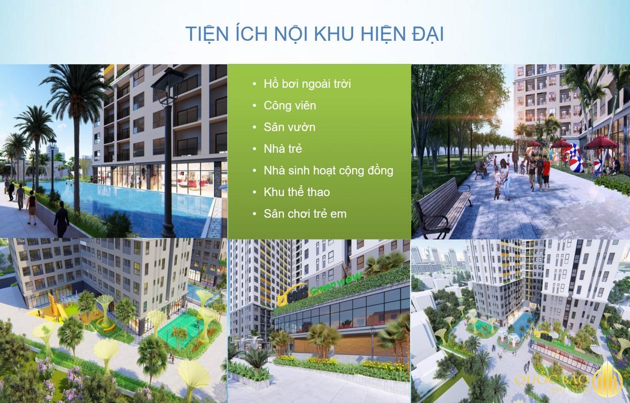 Tiện ích Dự án căn hộ Bcons Green View