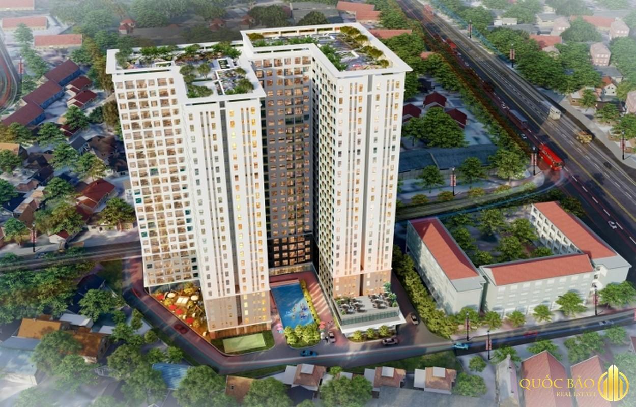 Phối cảnh dự án Bcons Green View - Dự án thuộc quy hoạch thành phố Dĩ An