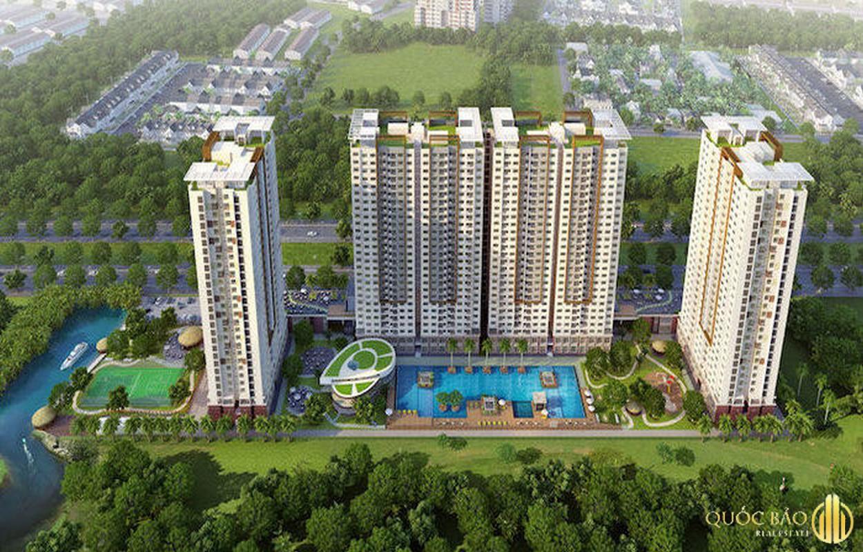 Phối cảnh Phú Hoàng Anh - Giá bán căn hộ Phú Hoàng Anh chỉ từ 1,9 tỷ