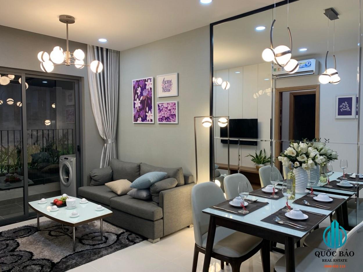 Phòng khách căn hộ Bcons Green View