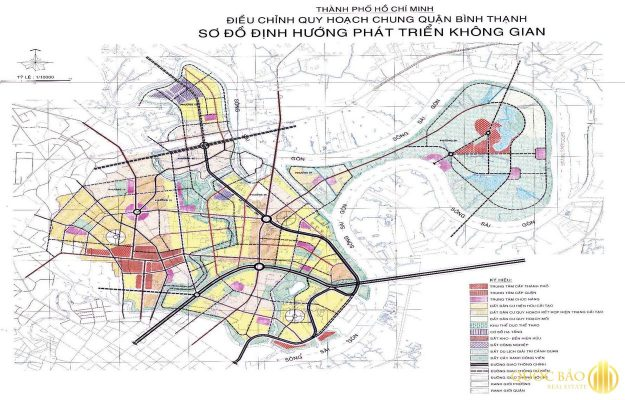 Vị trí quy hoạch quận Bình Thạnh
