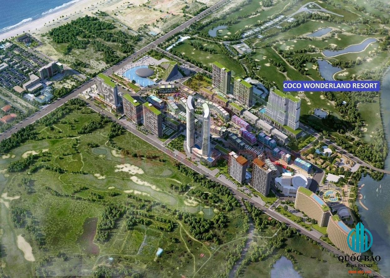 Dự án Coco Wonderland Resort Đà Nẵng