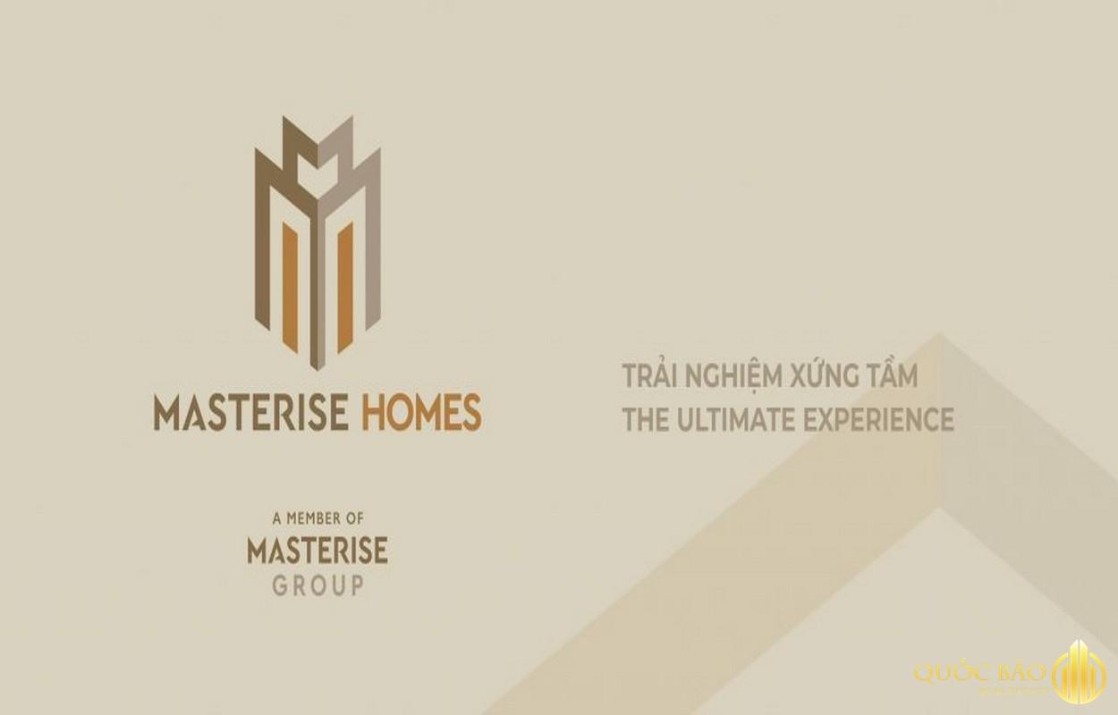 Logo chủ đầu tư Masterise Homes - Thành viên Tập đoàn Masterise Group