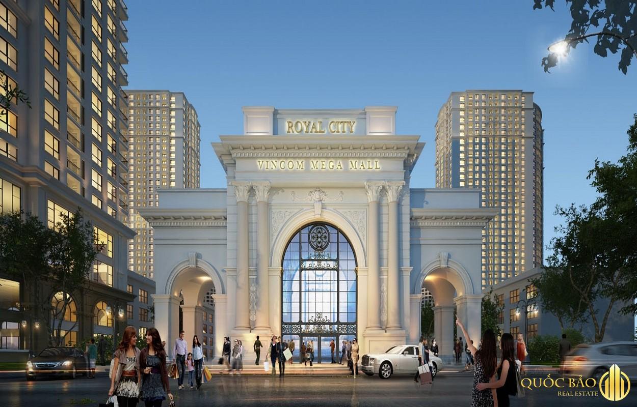 Cổng chào Royal City - Bảng giá bán chung cư Royal City