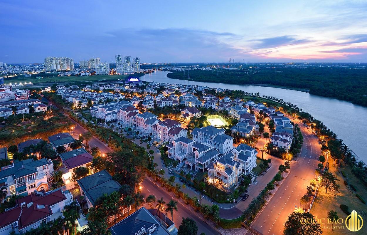 Ảnh minh họa khu đô thị đáng sống Phú Mỹ Hưng