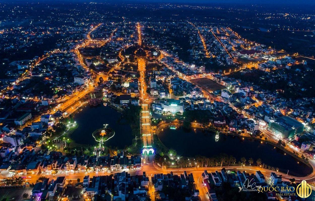 Thành phố Bảo Lộc về đêm