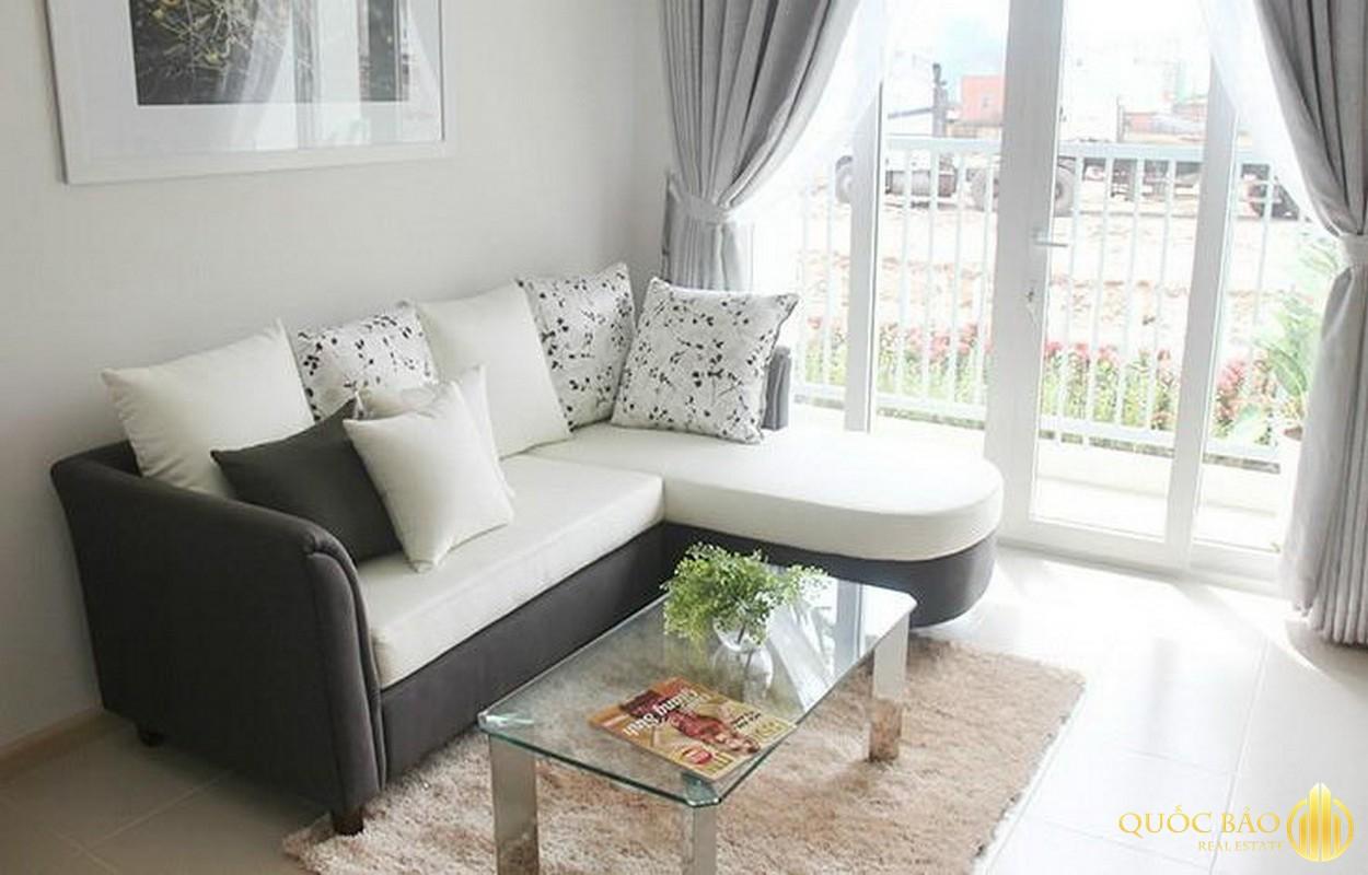 Thiết kế phòng khách chung cư bộ công an