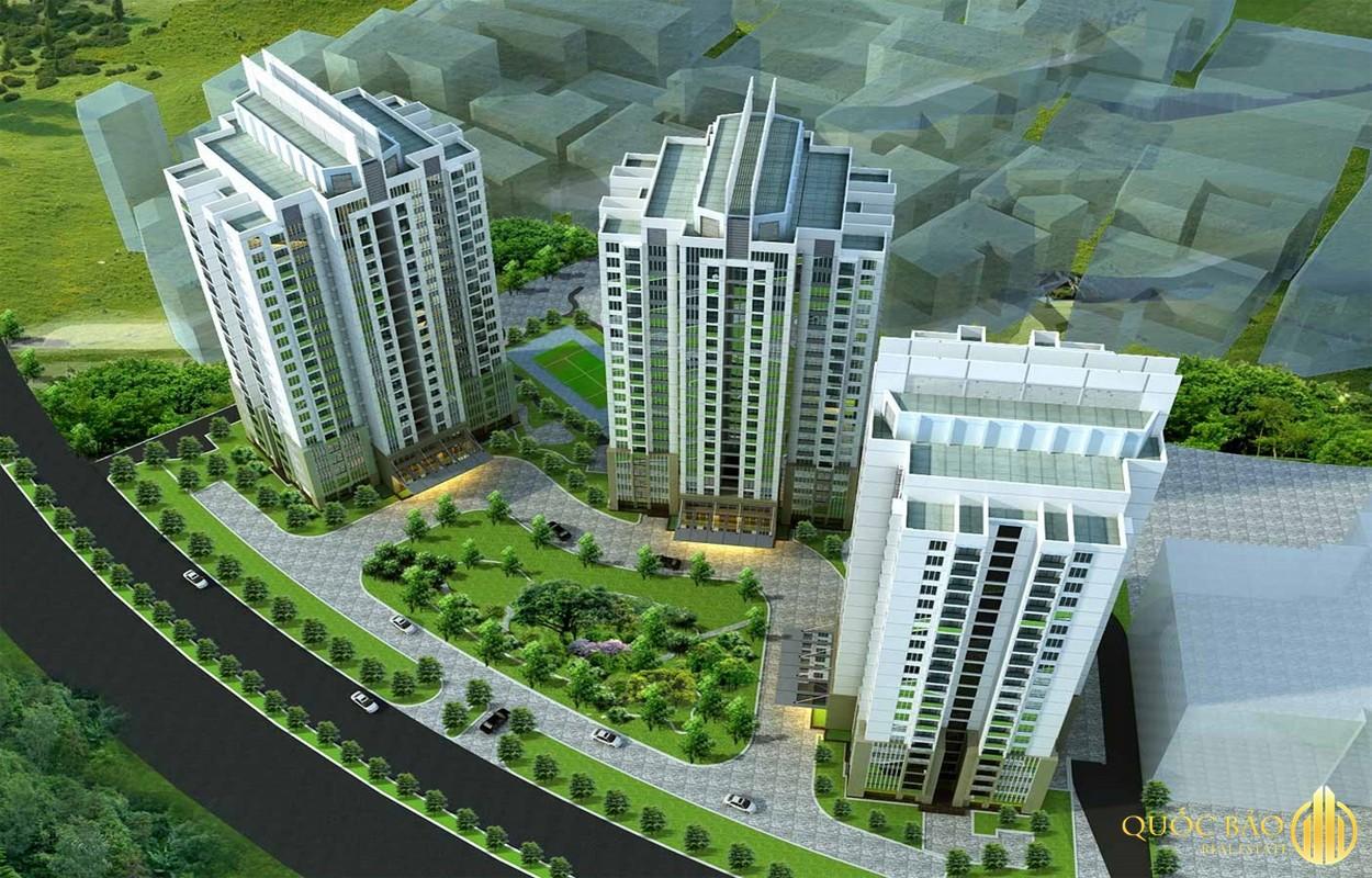 Phối cảnh chung cư IA20 Ciputra - Giá bán chung cư IA20 Ciputra rẻ hiếm có tại Hà Nội