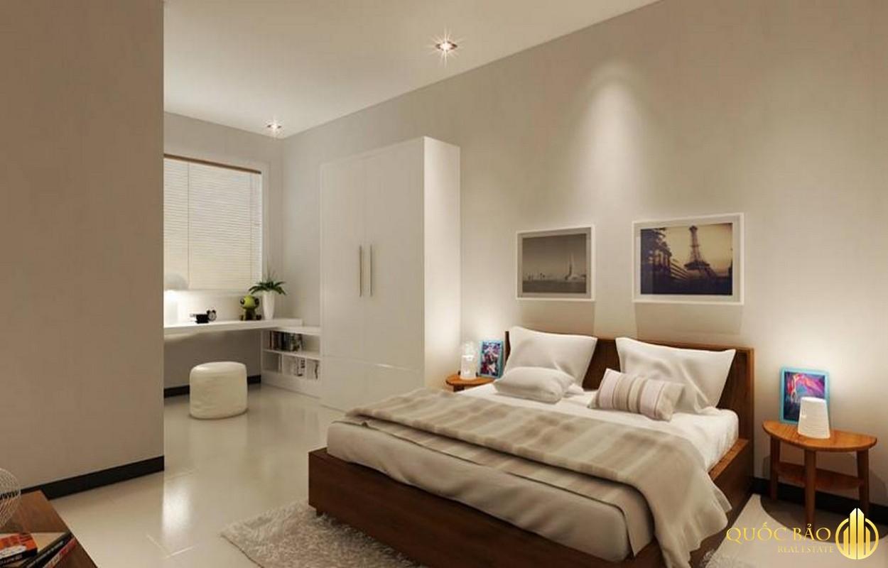 Phòng ngủ nhà mẫu chung cư SKY 9 Quận 9