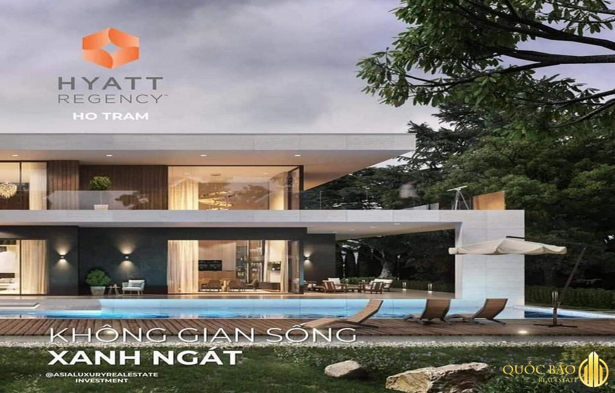 Tiện ích Dự án Hyatt Regency Hồ Tràm