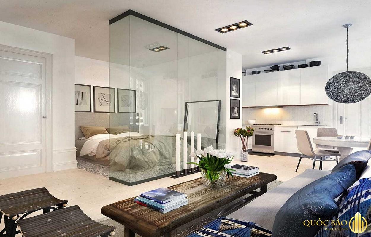Ảnh minh họa căn hộ chung cư - Mẫu hợp đồng thuê nhà chung cư