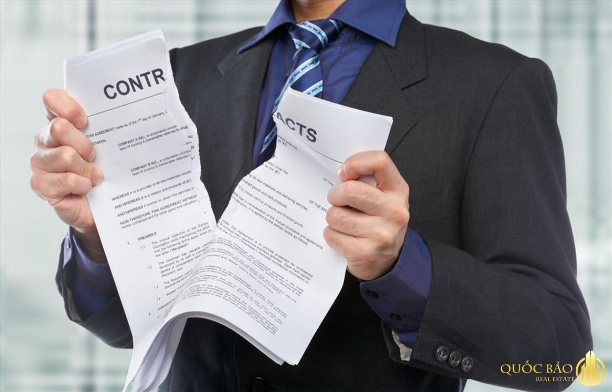Các trường hợp thanh lý hợp đồng thuê nhà chung cư