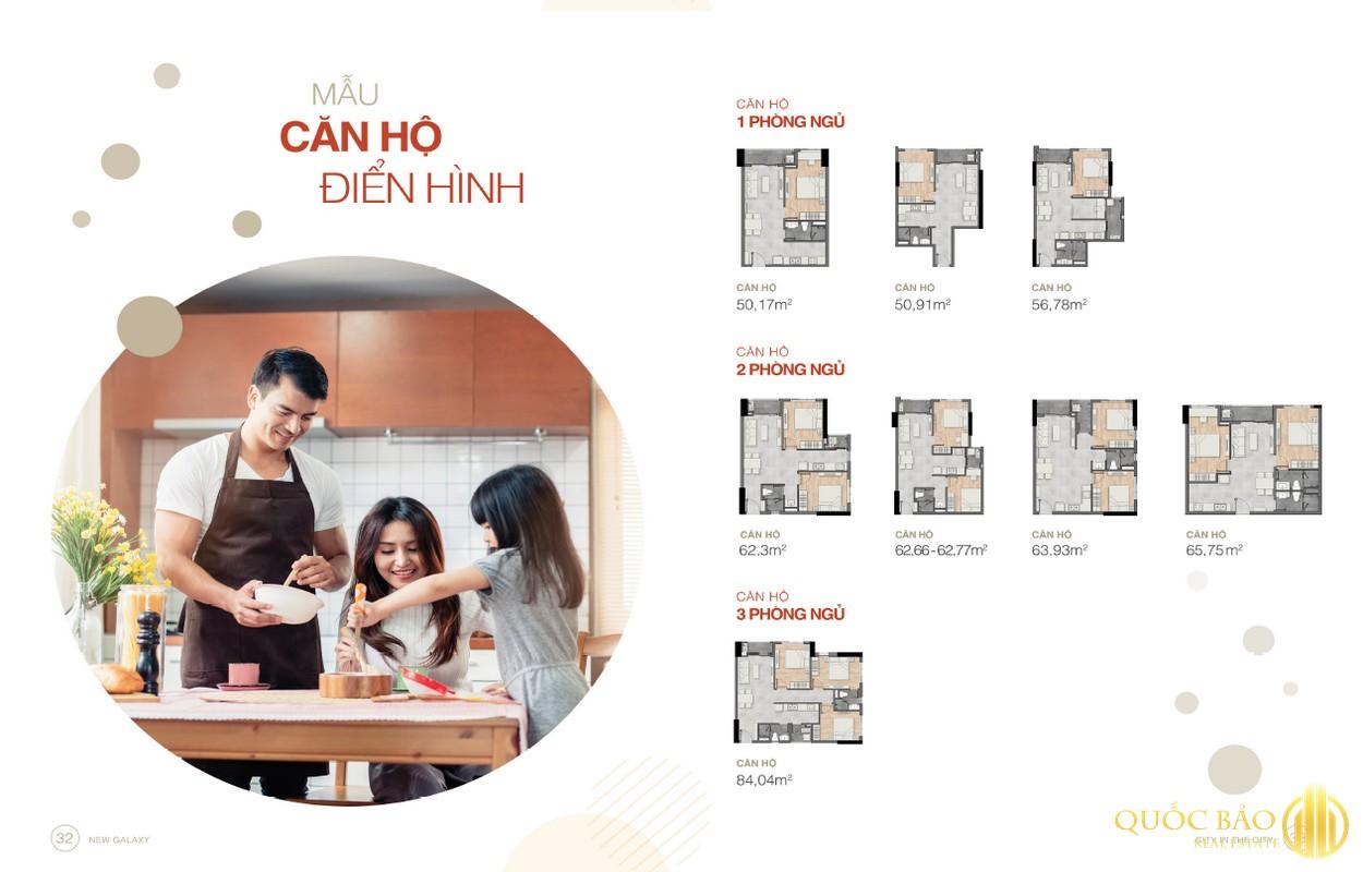 Thiết kế căn hộ New Galaxy Hưng Thịnh