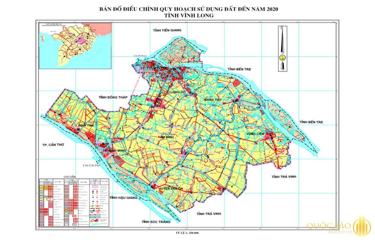 Bản đồ nhà đất Vĩnh Long