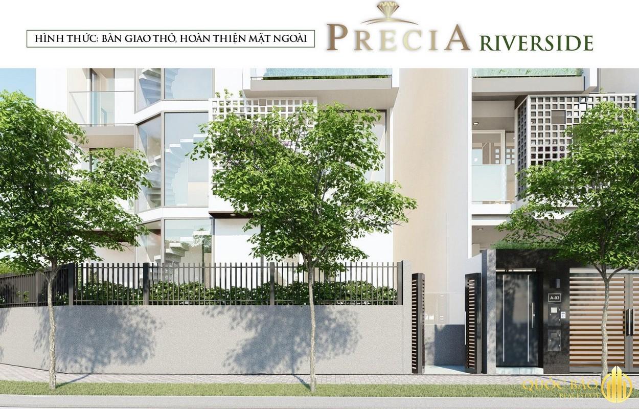 Ảnh minh họa Nhà phố Precia Riverside