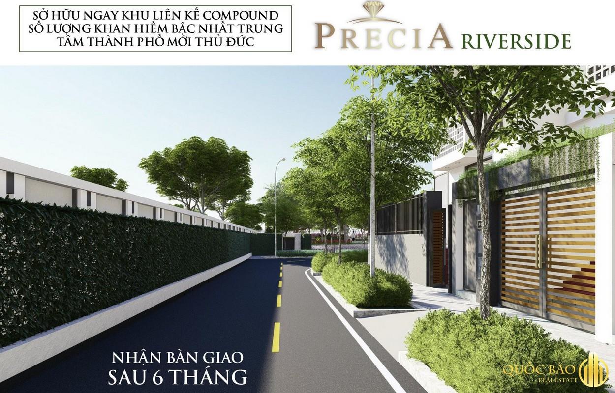 Giới thiệu Nhà phố Precia Riverside