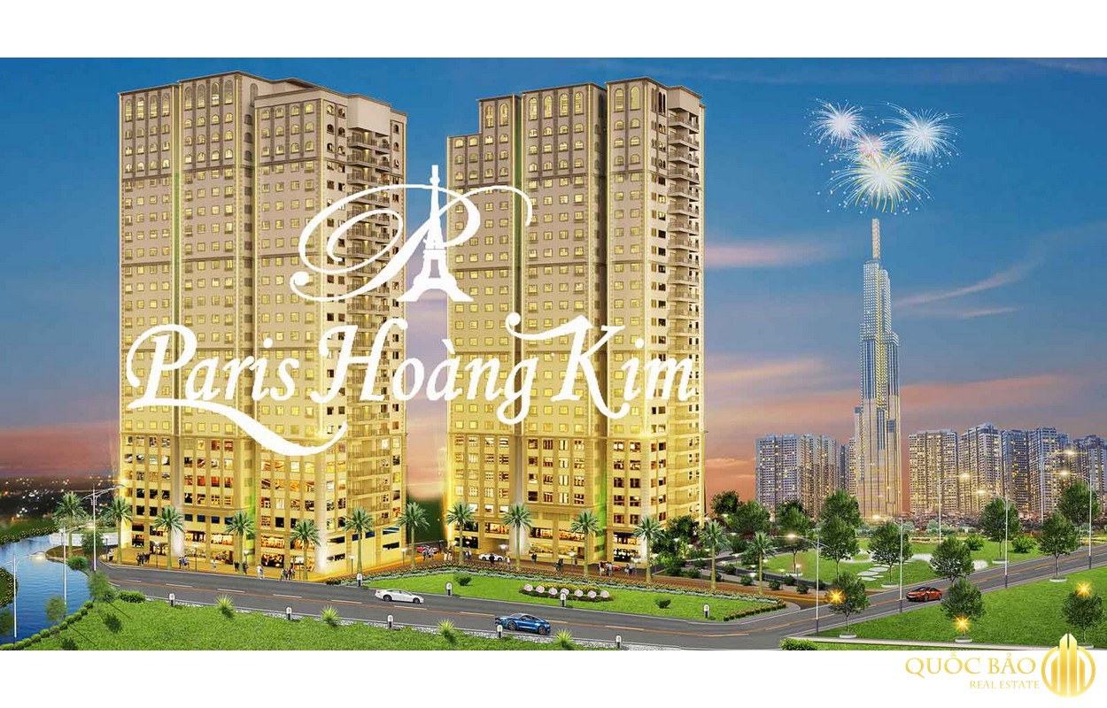Dự án căn hộ Paris Hoàng Kim sở hữu ưu thế vượt trội nào