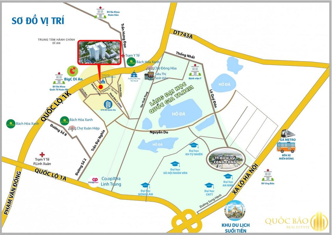 Vị trí đường Thống Nhất - Quy hoạch đường Thống Nhất
