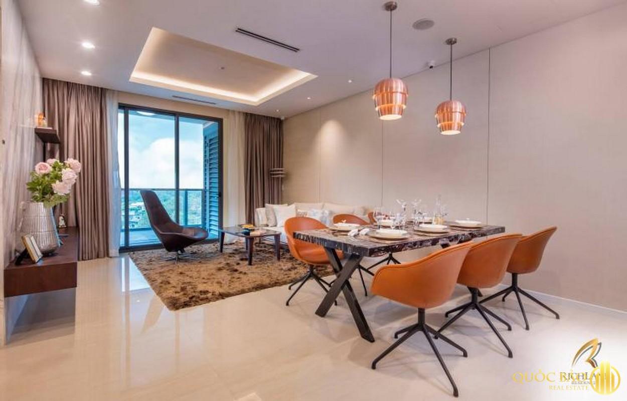 Thiết kế phòng khách Dự án Richlane Residences