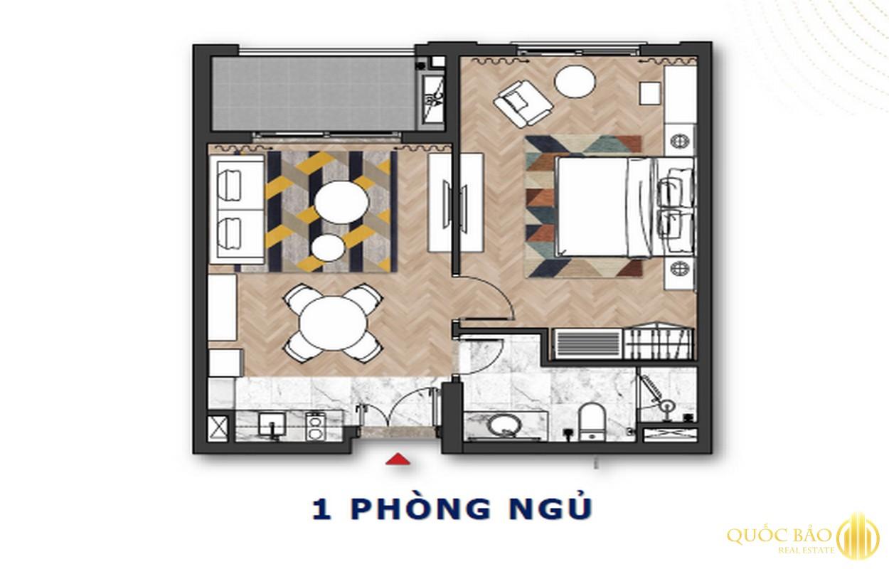 Thiết kế căn 1 PN