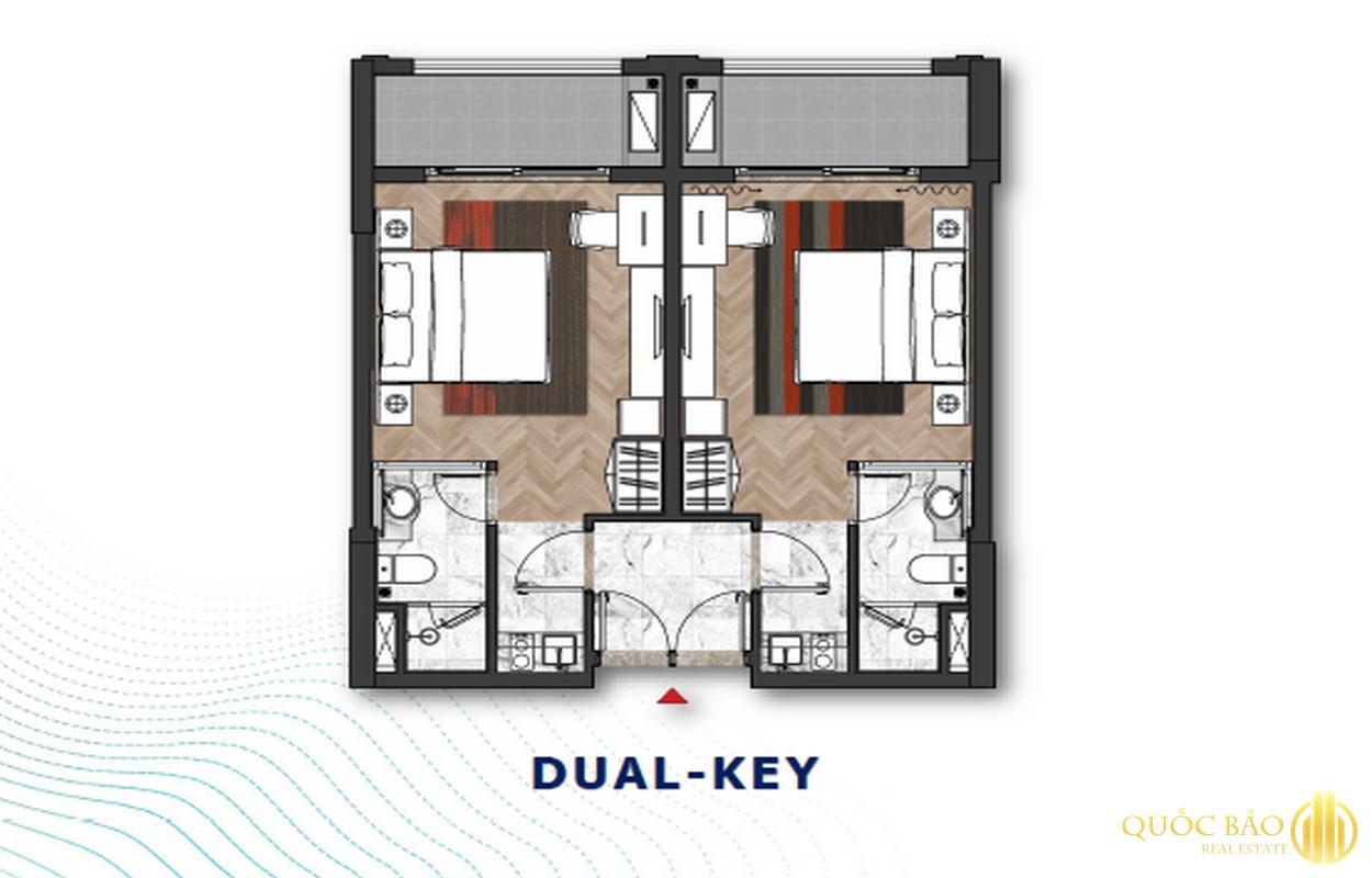Thiết kế căn Dual Key