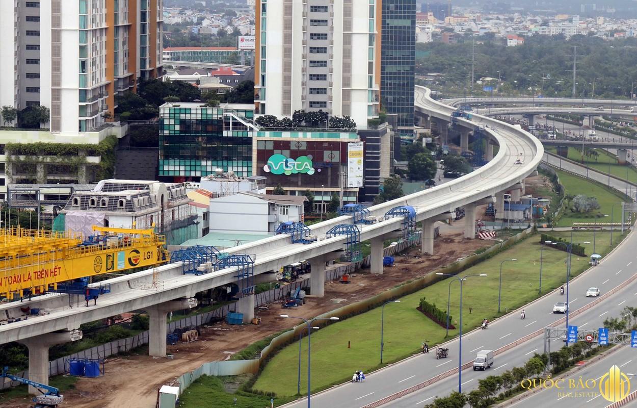 Hình ảnh thi công thực tế tuyến Metro số 4