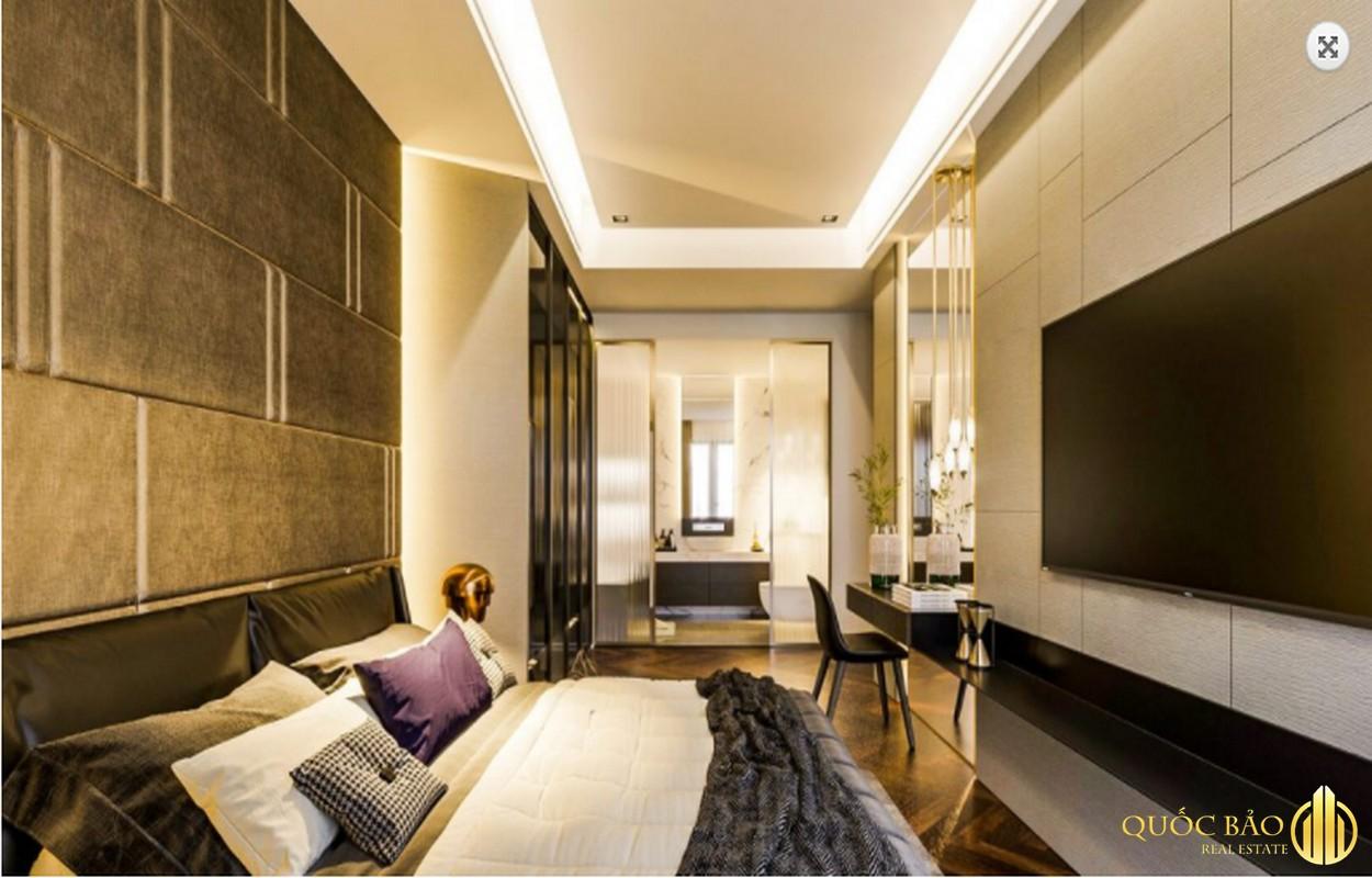 Phòng ngủ nhà mẫu Dragon Sky View Thủ Đức