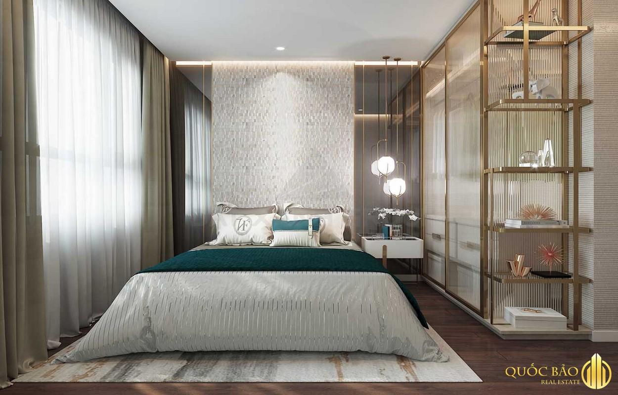 Phòng ngủ nhà mẫu Opal Cityview Bình Dương
