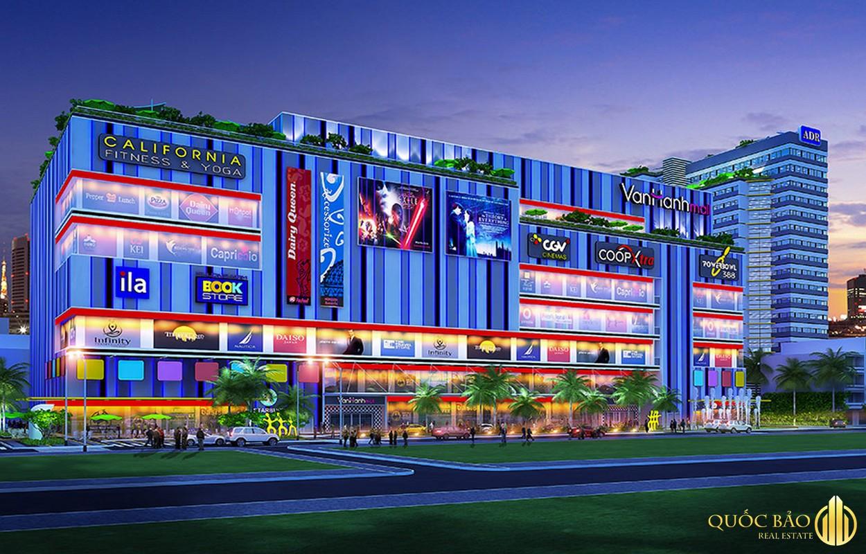 Phối cảnh Vạn Hạnh Mall - Biểu tượng quy hoạch Quận 10