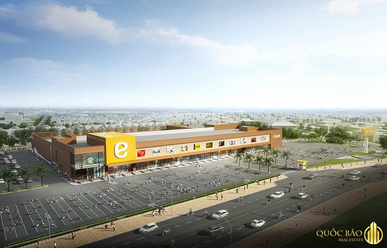 Đại siêu thị Emart là siêu thị nổi bật thuộc quy hoạch Quận Gò Vấp
