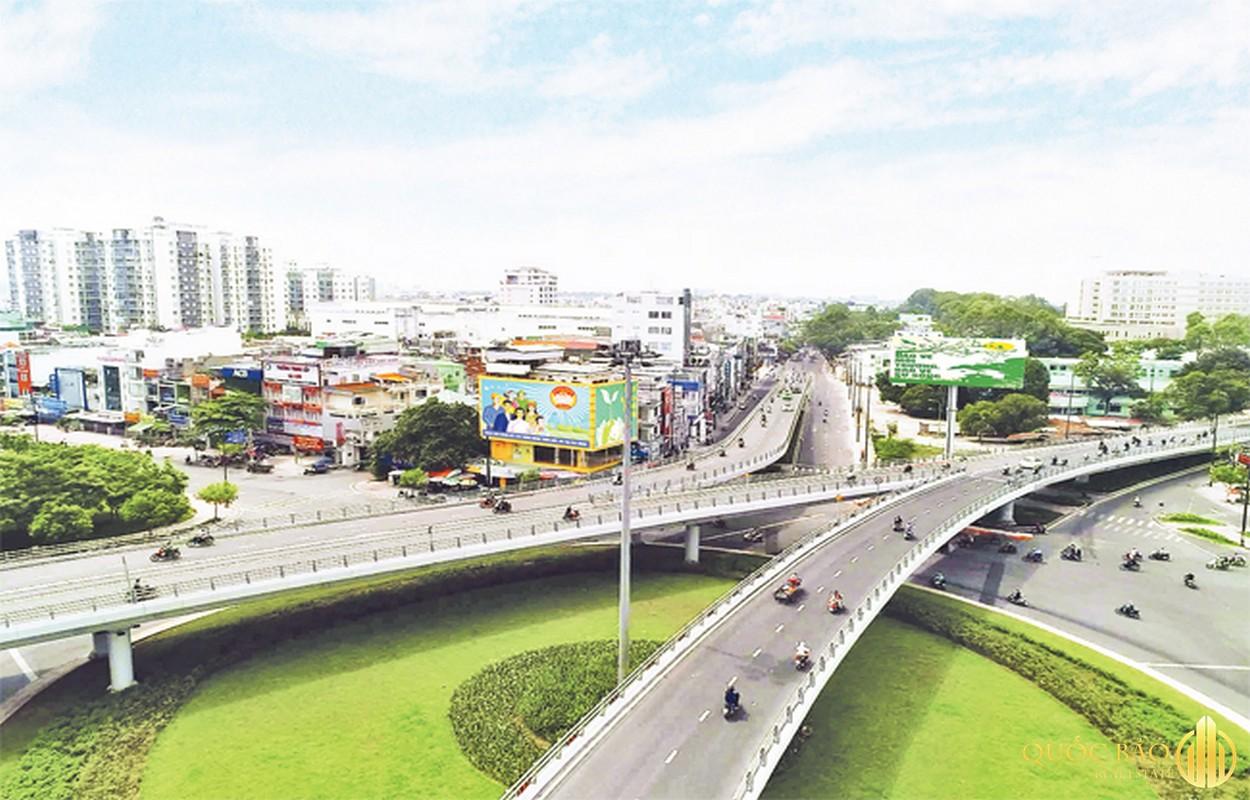 Ảnh minh họa giao thông thuộc quy hoạch Quận Gò Vấp